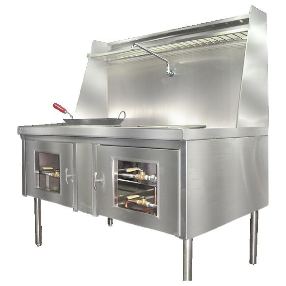 Wok cocinas industriales for Cocinas industriale