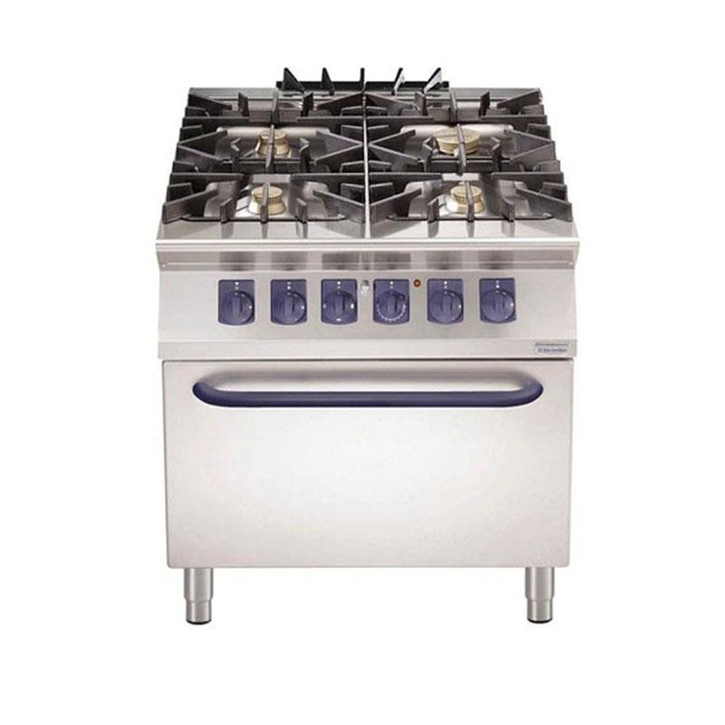 Cocina Gas 4 Quemadores S Horno El Ctrico Electrolux
