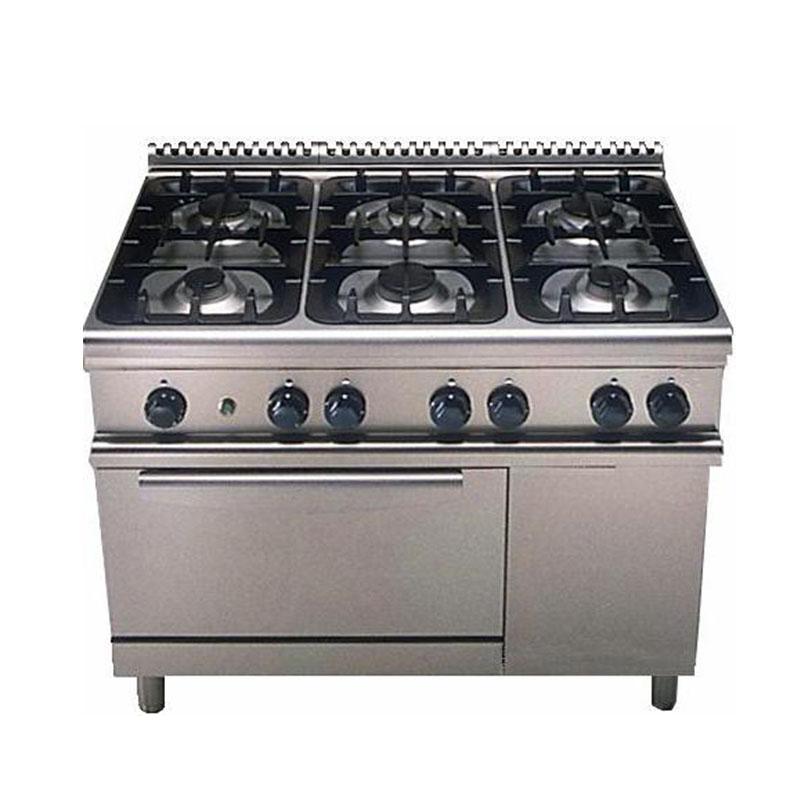 cocina a gas con horno el ctrico electrolux